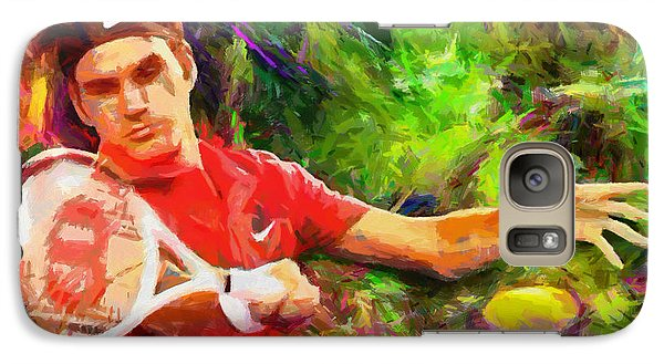 Tennis Galaxy S7 Case - Roger Federer by RochVanh