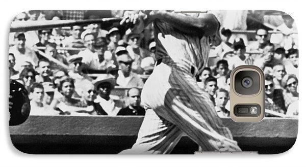 Roger Maris Hits 52nd Home Run Galaxy S7 Case