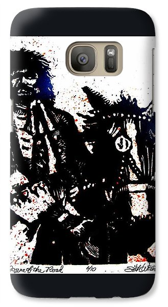 Galaxy Case featuring the relief Rogue Of The Road by Seth Weaver