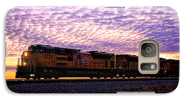 Galaxy Case featuring the photograph Rollin' Around The Bend by Jaki Miller