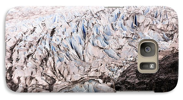 Galaxy Case featuring the photograph Rolling Ice Peaks by Davina Washington