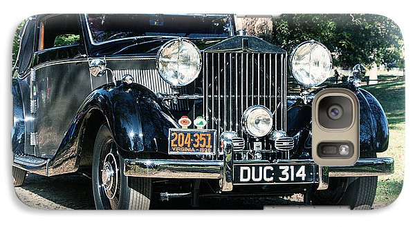 Galaxy Case featuring the photograph Rolling In Style 36 Rolls Royce by Alan Raasch