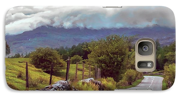 Rolling Storm Clouds Down Cumbrian Hills Galaxy S7 Case