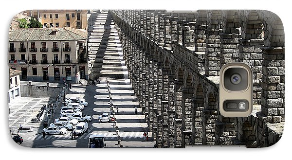 Galaxy Case featuring the photograph Roman Aqueduct II by Farol Tomson