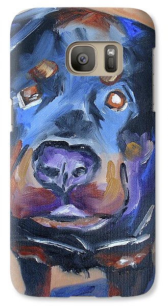 Galaxy Case featuring the painting Roman by Donna Tuten
