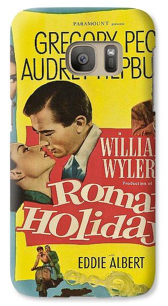 Roman Holiday - 1953 Galaxy S7 Case