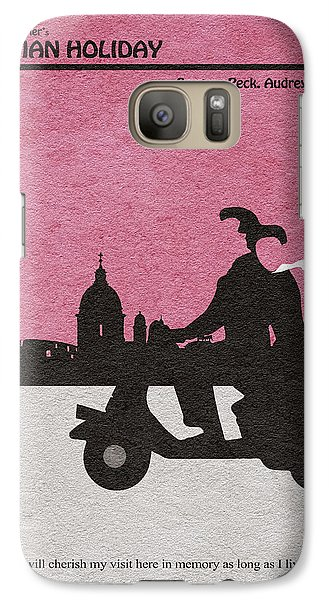 Roman Holiday Galaxy S7 Case by Ayse Deniz