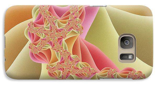 Galaxy Case featuring the digital art Romance by Gabiw Art