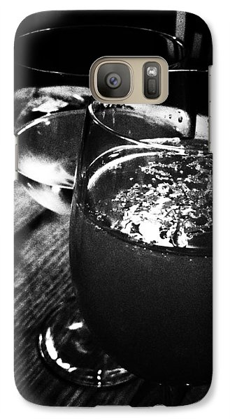 Galaxy Case featuring the photograph Romance by Lucy D