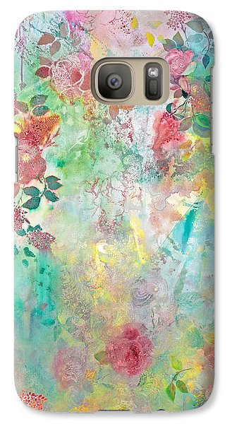 Galaxy Case featuring the painting Romance Me - Acrylic On Canvas by Brooks Garten Hauschild