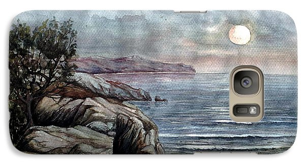 Galaxy Case featuring the painting Romance by Mikhail Savchenko