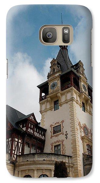 Romania Transylvania Sinaia Peles Castle Galaxy S7 Case by Inger Hogstrom