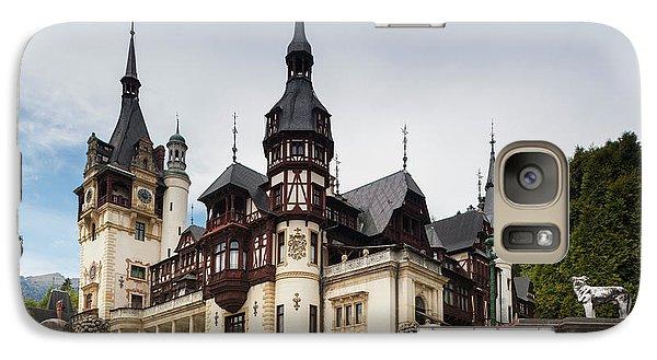 Romania, Transylvania, Sinaia, Peles Galaxy S7 Case by Walter Bibikow