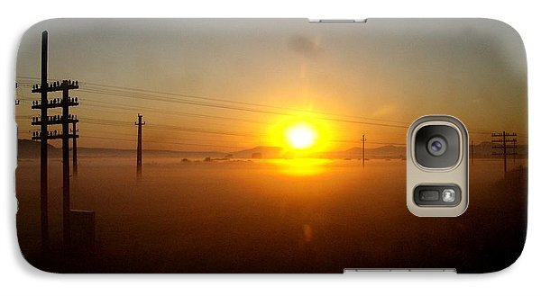 Galaxy Case featuring the photograph Romanian Sunset by Giuseppe Epifani