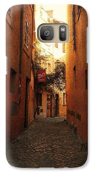 Galaxy Case featuring the photograph Romano Cartolina by Micki Findlay