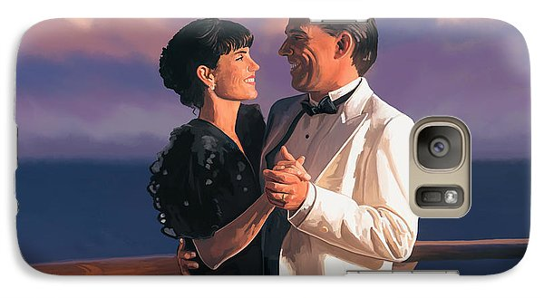 Galaxy Case featuring the painting Romantic Cruise by Tim Gilliland