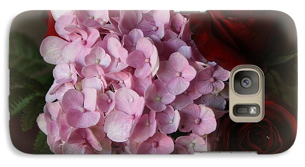 Galaxy Case featuring the photograph Romantic Floral Fantasy Bouquet by Kay Novy