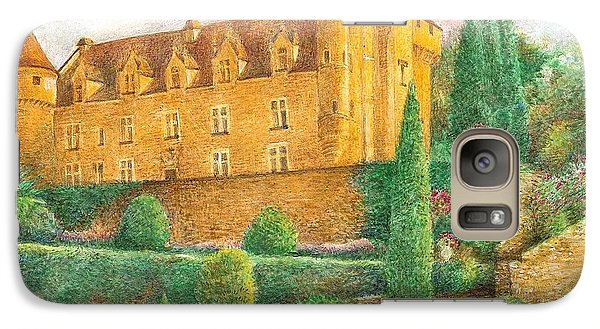 Galaxy Case featuring the painting Romantic French Chateau by Judith Cheng