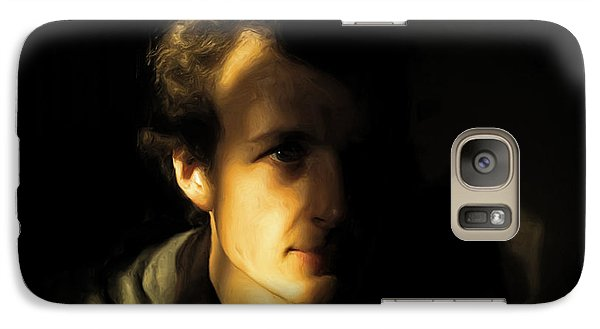 Galaxy Case featuring the digital art Ron Harpham by Ron Harpham