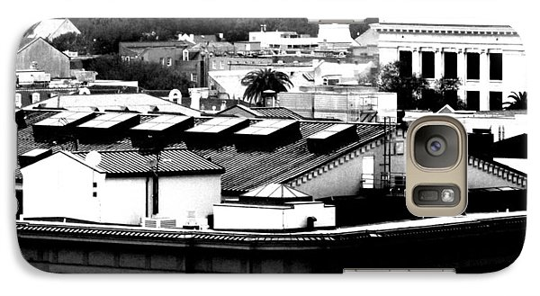 Galaxy Case featuring the photograph Roof Tops by Gayle Price Thomas