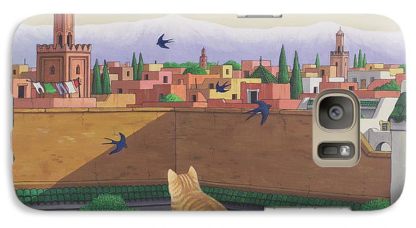 Rooftops In Marrakesh Galaxy S7 Case