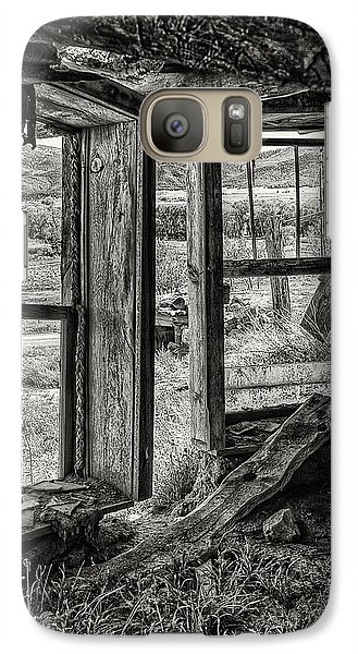 Galaxy Case featuring the photograph Room With A View by Priscilla Burgers