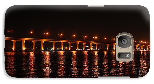 Galaxy Case featuring the photograph Roosevelt Bridge Panorama by Olga Hamilton