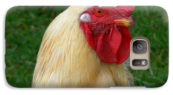 Galaxy Case featuring the photograph Rooster Cogburn by Joseph Skompski