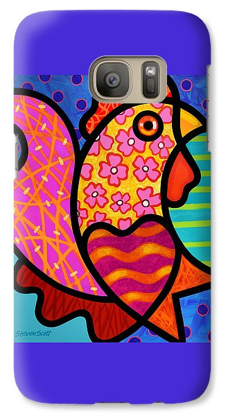 Rooster Dance Galaxy S7 Case