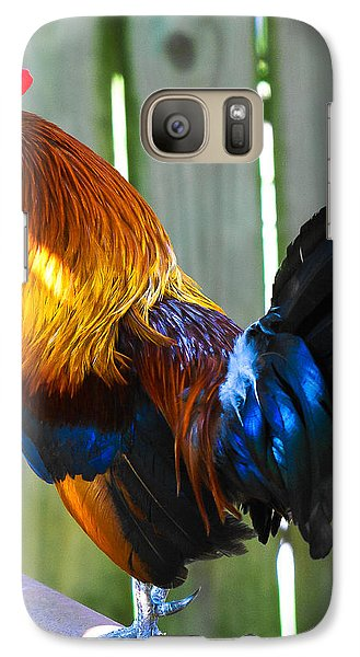 Galaxy Case featuring the photograph Rooster by Robert L Jackson