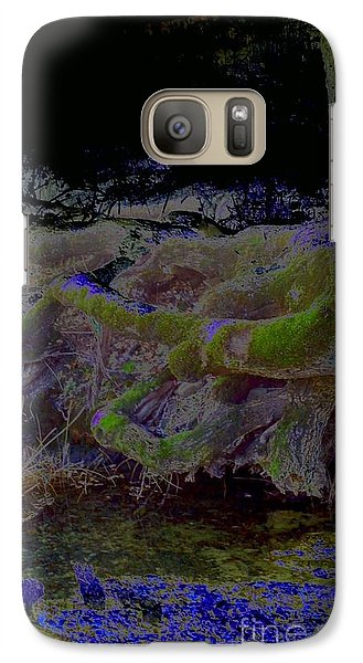 Galaxy Case featuring the photograph Roots by Karen Newell