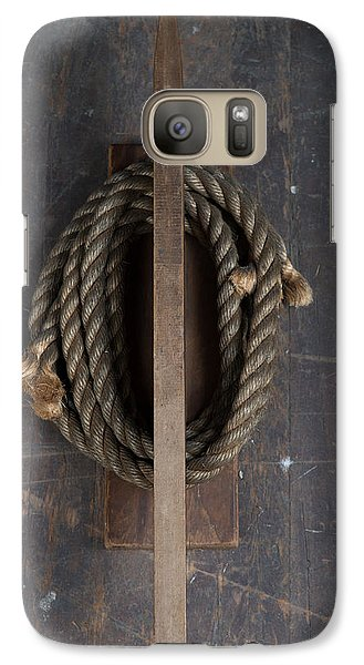 Galaxy Case featuring the painting Rope Holder by Izabella West