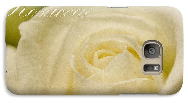 Galaxy Case featuring the photograph Rosaceae Romantic Beauties by MaryJane Armstrong