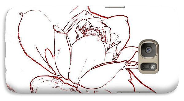 Galaxy Case featuring the digital art Rose 2 by Ludwig Keck