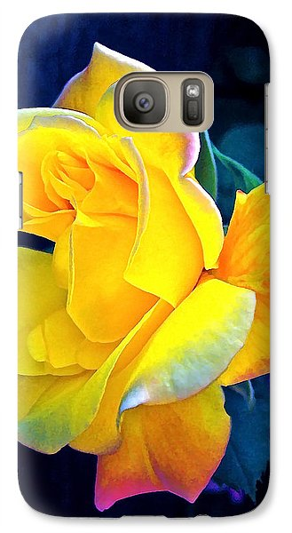 Galaxy Case featuring the photograph Rose 4 by Pamela Cooper