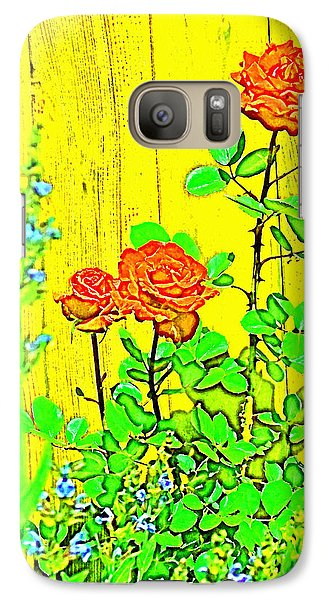 Galaxy Case featuring the photograph Rose 9 by Pamela Cooper