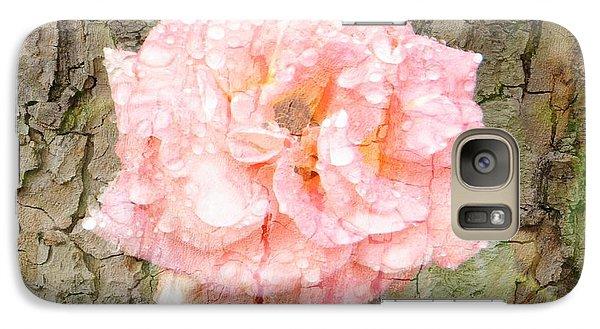 Galaxy Case featuring the photograph Rose Bark by Amanda Eberly-Kudamik