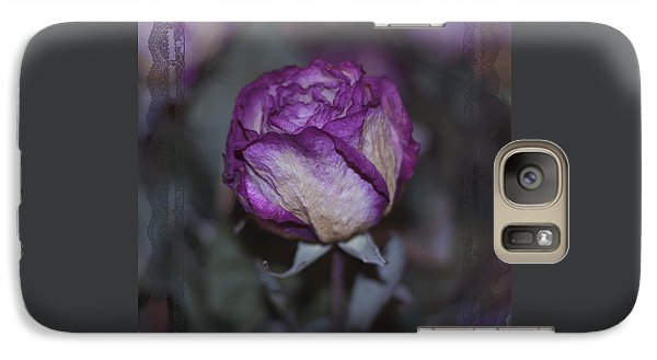 Galaxy Case featuring the photograph Rose Beauty After by Sandra Foster
