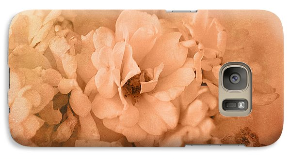 Galaxy Case featuring the photograph Rose Bouquet In Sepia by Kathleen Stephens
