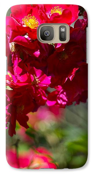 Galaxy Case featuring the photograph Rose Bouquet by Michele Myers