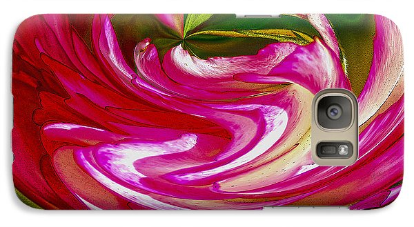 Galaxy Case featuring the photograph Rose Bowl by Nancy Marie Ricketts