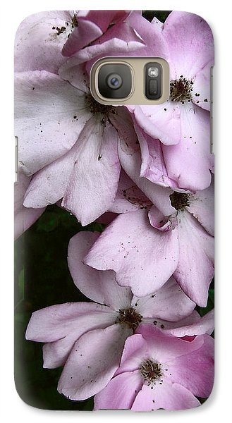 Galaxy Case featuring the photograph Rose Cluster by Louise Kumpf