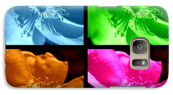 Galaxy Case featuring the photograph Rose Collage by Kelly Nowak