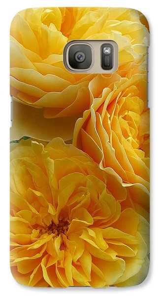 Galaxy Case featuring the photograph Rose Graham Thomas by Sabine Edrissi