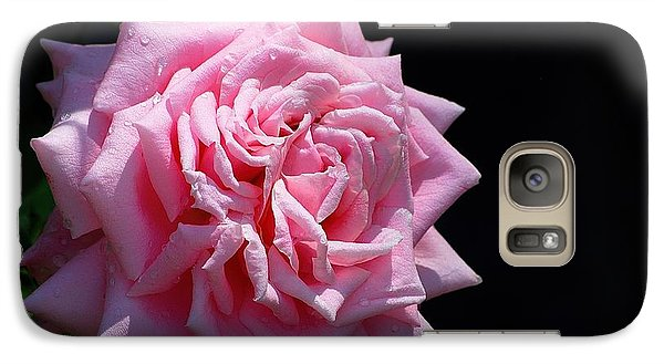 Galaxy Case featuring the photograph Rose by Ludwig Keck