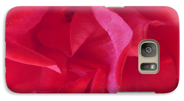Galaxy Case featuring the photograph Rose by Nora Boghossian