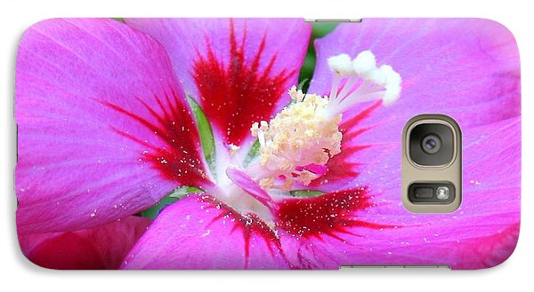 Galaxy Case featuring the photograph Rose Of Sharon Hibiscus by Patti Whitten