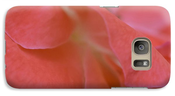 Galaxy Case featuring the photograph Rose Petals by Stephen Anderson