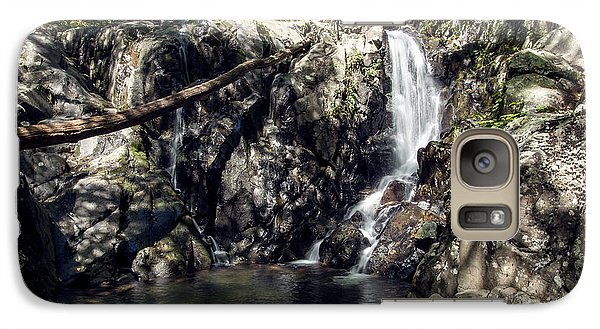 Galaxy Case featuring the photograph Rose River Falls 1 by David Lester