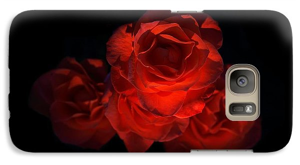 Galaxy Case featuring the photograph Rose Three by David Andersen
